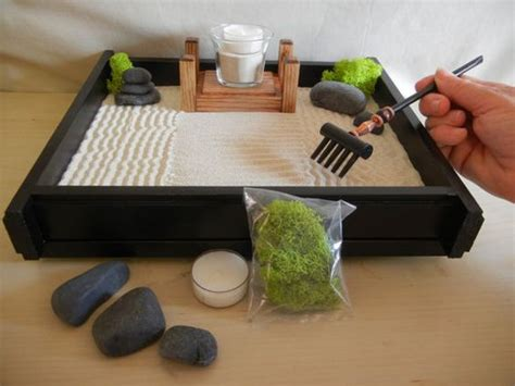 desk garden zen gardens zen and desks on pinterest