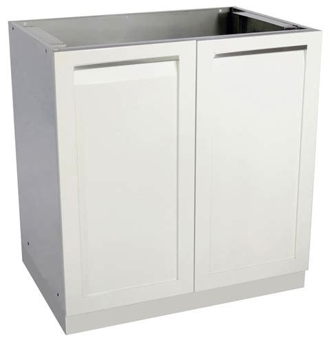 White 2 Door Cabinet 2 Door Outdoor Kitchen Cabinet W40051 4 Outdoor Inc