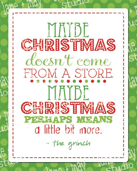 printable quotes etsy christmas grinch quote 8 x 10 digital print instant download