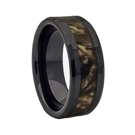 fall camouflage promise ring and wedding from lena style