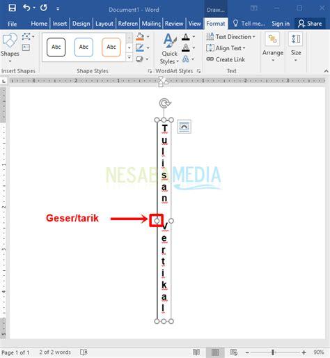langkah langkah untuk membuat teks anekdot cara membuat teks tulisan vertikal di microsoft word