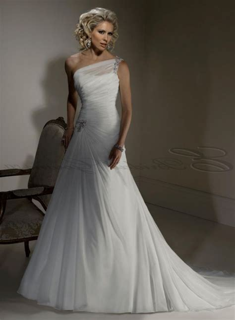 One Shoulder Wedding Dress by One Shoulder Wedding Dress Plus Size 2016 2017 B2b Fashion