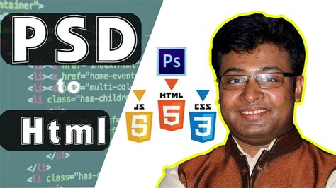 psd to html tutorial youtube psd to html convert using bootstrap for new bee easy way
