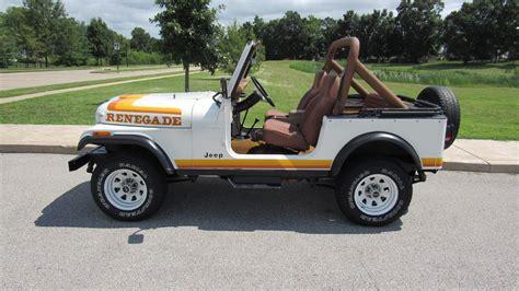 1981 jeep renegade 1981 jeep cj 7 renegade t125 louisville 2016