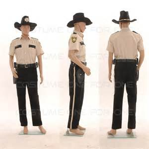 Rick Grimes Costume The Walking Dead Season 4 Sheriff Rick Grimes Costume Cos Tailored Ebay