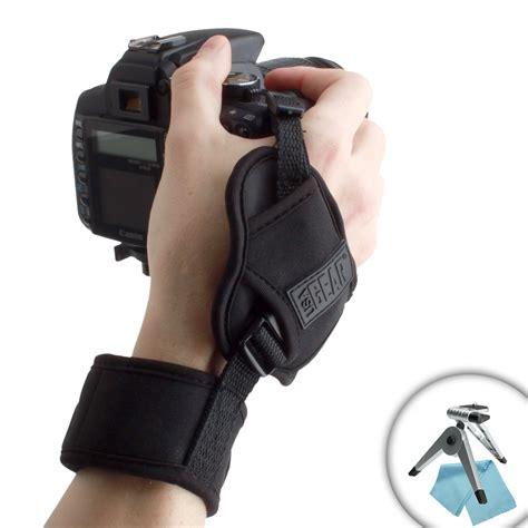 Stabilising Bag Vs Your Skool Tripod by Usa Gear Dualgrip Dslr Stabilizing Wrist