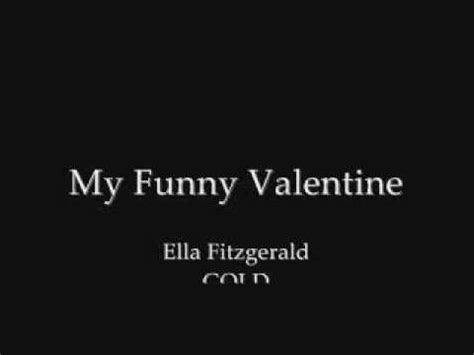Image result for my funny valentine you tube