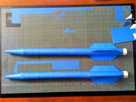 air rocket template paper rocket 8 steps