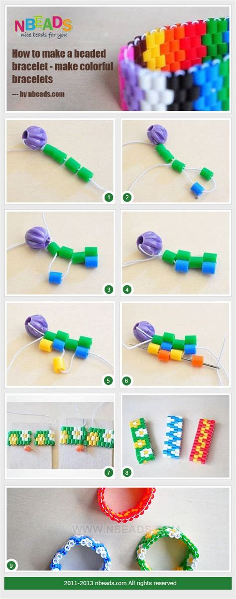how to make perler how to make a perler bead bracelet bracelet and necklace