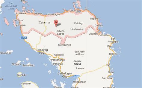 map of san jose northern samar npa c in northern samar falls to inquirer news