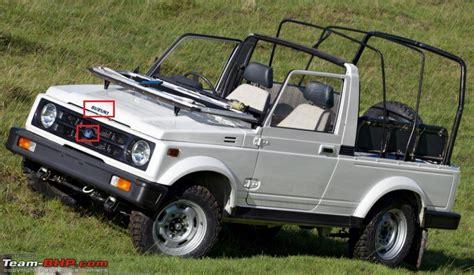 Maruti Suzuki Gipsy Maruti Suzuki Queries Page 20 Team Bhp