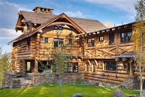 Big Retreat Cabins by Rustic Luxe Log Cabin Retreat In Big Sky Montana