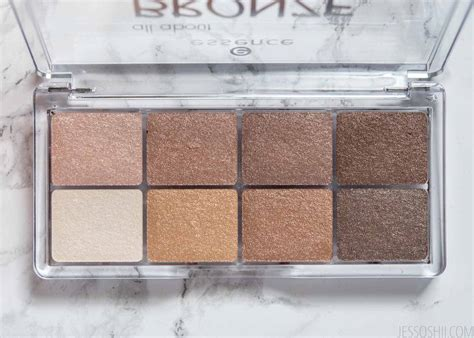 Eyeshadow The Bronze Palette essence all about eyeshadow palettes roses bronze