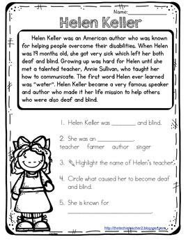 helen keller biography worksheet all worksheets 187 helen keller worksheets printable