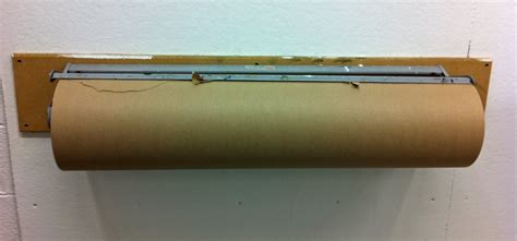 Craft Paper Dispenser - 2 butcher paper and its dispenser i will give it back