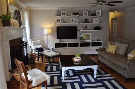 open shelves around tv places and spaces pinterest