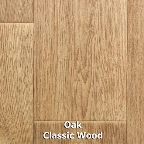 oak classic wood plank style vinyl flooring 2m 3m 4m