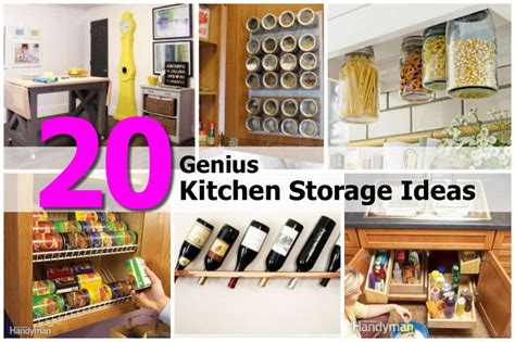 genius kitchen 20 genius kitchen storage ideas