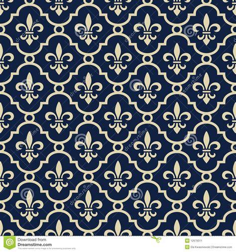 fleur de lis skin rip on blue background on royal blue background stock vector illustration of