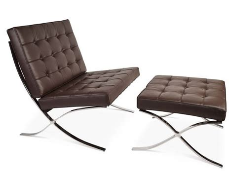 barcelona chair and ottoman barcelona chair and ottoman dark brown