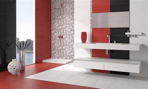 azulejo negro leroy merlin combinaci 243 n de azulejos en blanco rojo y negro para ba 241 o