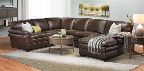 amerikanisches sofa winfield leather sectional sofa haynes furniture