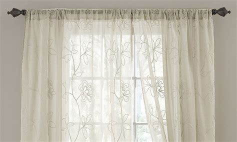 laura ashley girls curtains 2 pack of laura ashley curtain panels groupon