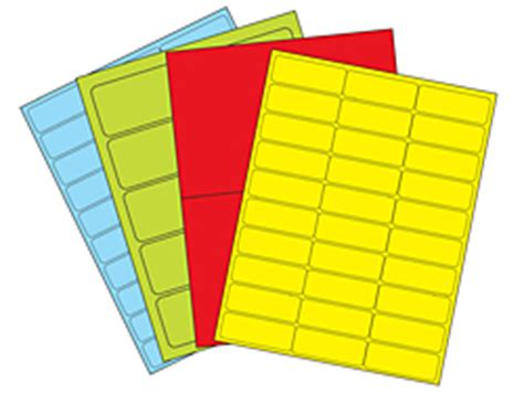 templates for uline labels fluorescent removable laser labels in stock uline