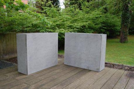2er set pflanzk 252 bel trennelemente beton quot elemento quot 88 cm