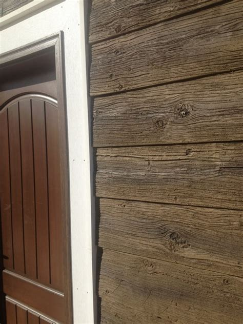 wood paneling exterior faux panels barn wood craftsman exterior other metro