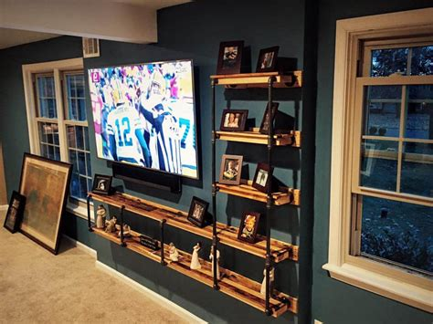 entertainment center with shelves dvd storage wood plans