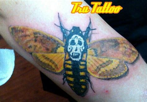 silence of the lambs tattoo silence of the lambs moth tattoos