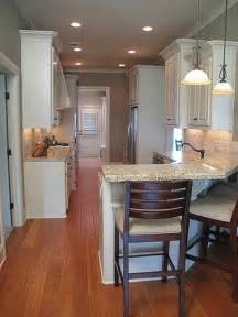 How To Update A Galley Kitchen - galley kitchen with bar possible kitchen update quotes pinterest