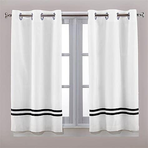 hookless window curtains buy hookless 174 escape 45 inch bath window curtain panels in