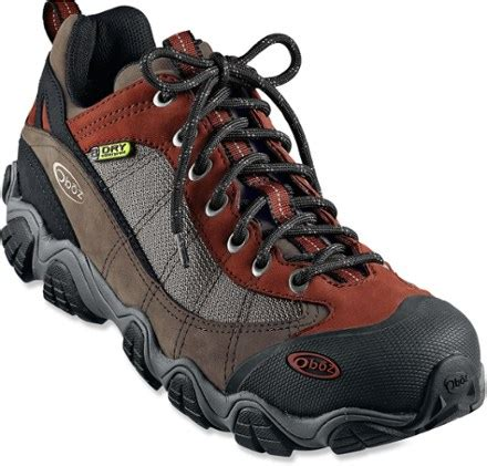 rei hiking shoes oboz firebrand ii bdry hiking shoes s at rei