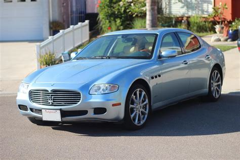 blue maserati 4 door 2005 maserati quattroporte 4 door sedan 180721