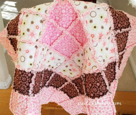 Quilting A Quilt by Baby Rag Quilt Tutorial