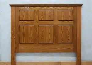 raised panel headboard de vries woodcrafters