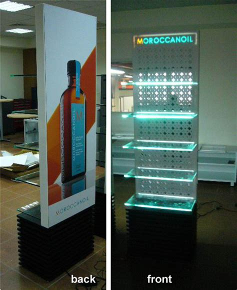1000 ideas about product display stands on jes uni co ltd product moroccanoil display stand
