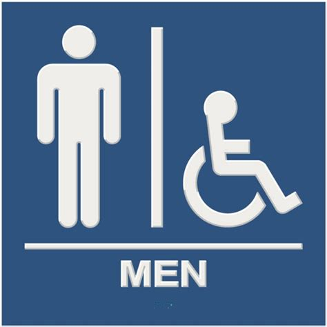 bathroom signages extraordinary 80 bathroom sign height ada decorating
