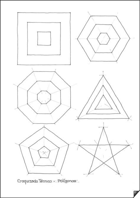 figuras geometricas utilizadas en el dibujo tecnico trazado de pol 237 gonos dibujo t 233 cnico el croquis