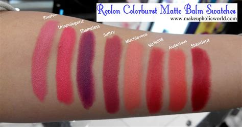 Revlon Colorburst Matte Balm revlon colorburst crayon matte balms makeupholic world