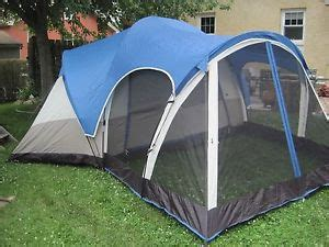 3 room tent with screened porch greatland 3 room screen porch dome tent ebay