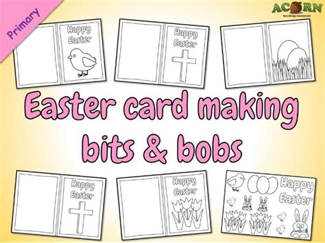 Easter Card Template Tes by Cracking Easter Resources For Eyfs And Primary Tes