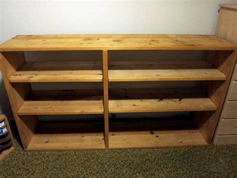 sturdy solid pine shelf up for grabs
