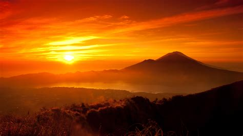 sunset orange orange sunset wallpaper 1920x1080 79733