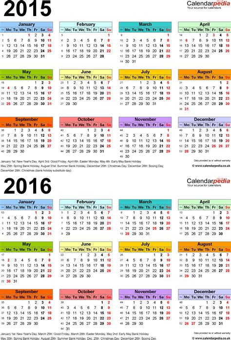 printable calendar usa 2016 bank holidays 2016 united states calendar template 2016