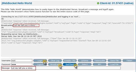 javascript tutorial and exles websockets javascript sle