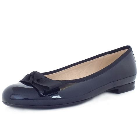 flat shoes for uk kaiser uk idora navy patent flat shoes free uk