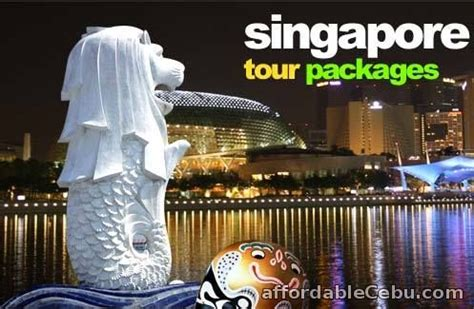 singapore 4d3n all in tour package with trip airfare via jetstar 2016 weekly